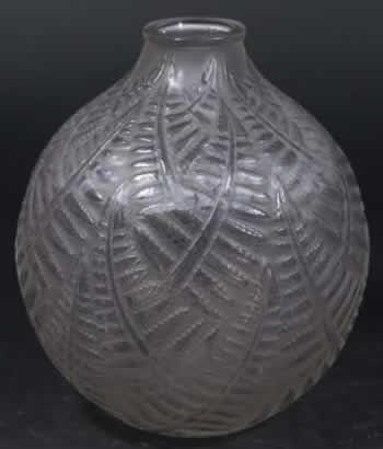 Rene Lalique Vase Espalion