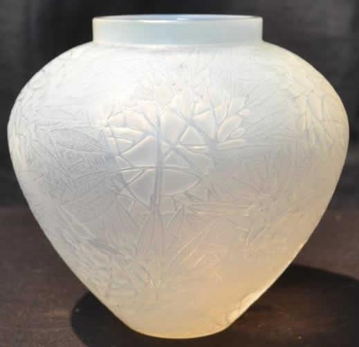 Rene Lalique Vase Esterel