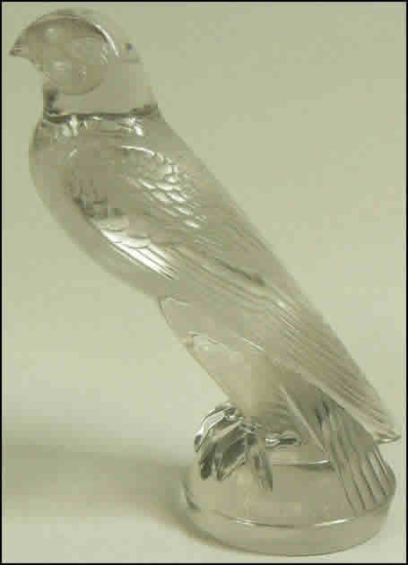 Rene Lalique Falcon Car Mascot