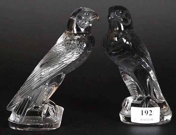 Rene Lalique Car Mascot Faucon