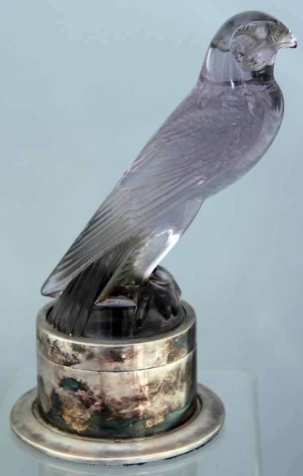 Rene Lalique Faucon Hood Ornament