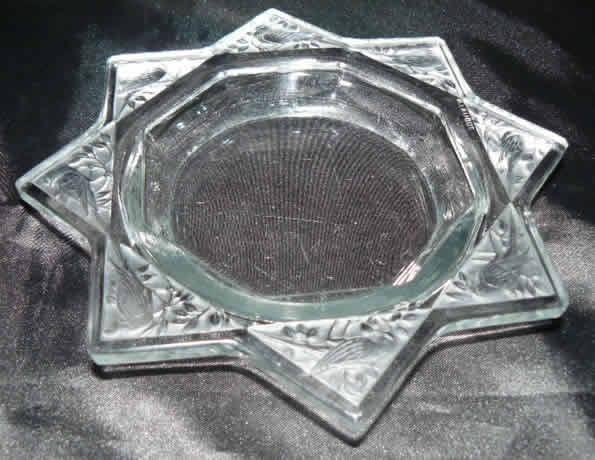 Rene Lalique Fauvettes Ashtray