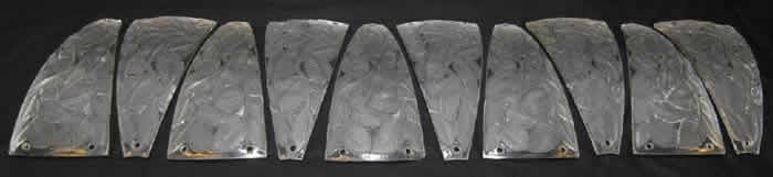 Rene Lalique  Feuilles De Charme Lighting