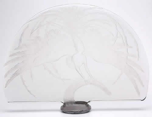 Rene Lalique  Firebird Table Decoration