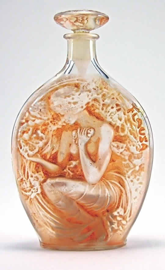 Rene Lalique Flausa Perfume Bottle