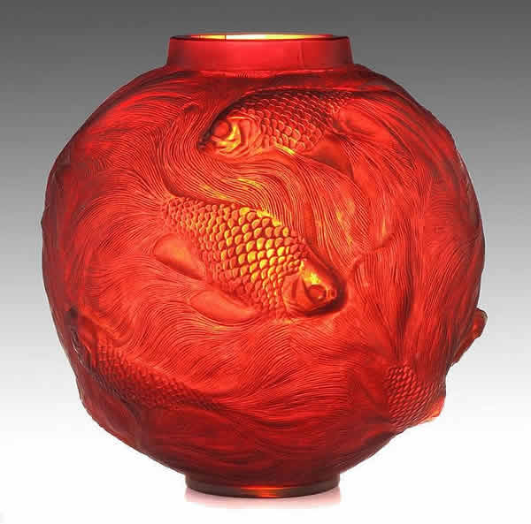 Rene Lalique Formose Vase 5346 Rlalique