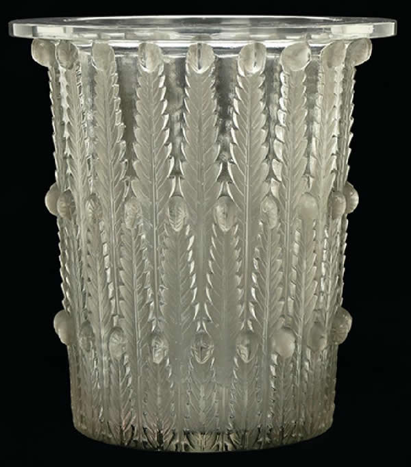 R. Lalique Fougeres Ice Bucket