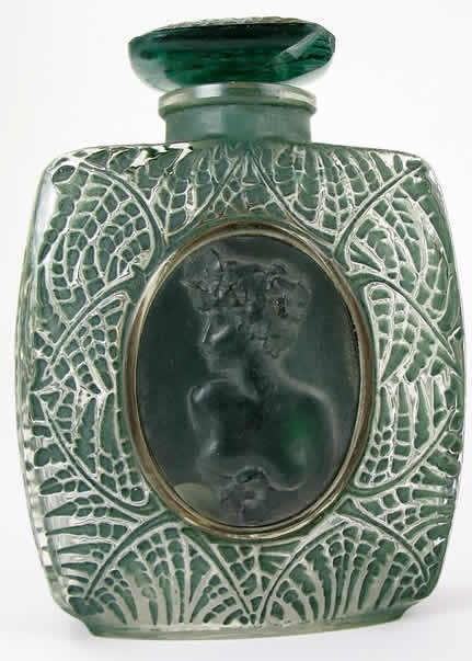 Rene Lalique Fougeres Perfume Bottle
