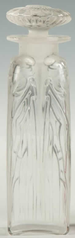 Rene Lalique Four Cicadas Perfume Bottle