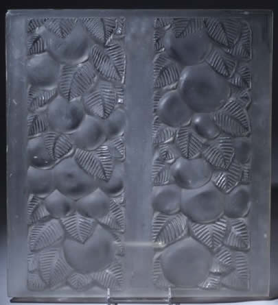 Rene Lalique Fruit and Leaves Panel