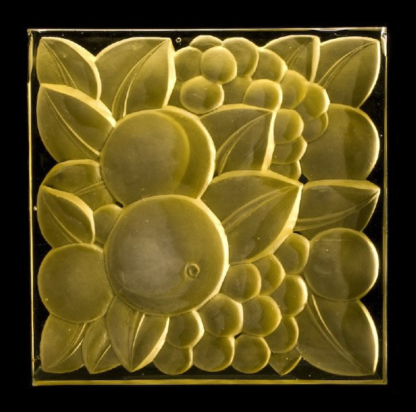 Rene Lalique Fruits Architectural Panel