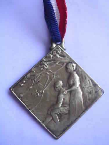 Rene Lalique Medal Wounded Soldiers