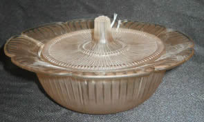 Rene Lalique Covered Bowl Gatinais