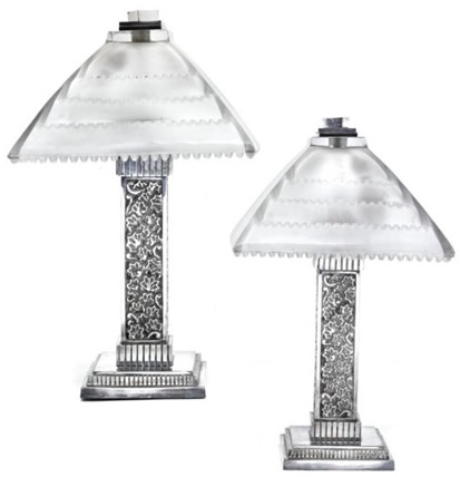 Rene Lalique Grand Depot Lamp