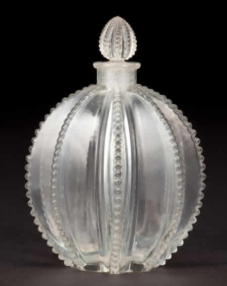 Rene Lalique  Gregoire Perfume Bottle