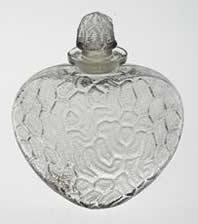 Rene Lalique Perfume Bottle Grigri
