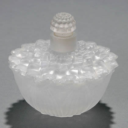 Rene Lalique Helene Perfume Bottle