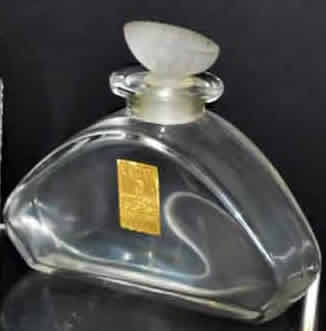 Rene Lalique Heliotrope Perfume Bottle