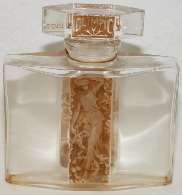 Rene Lalique Olimpic Perfume Bottle