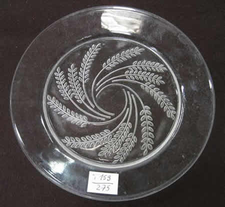 Rene Lalique  Hortense Lunch Plate