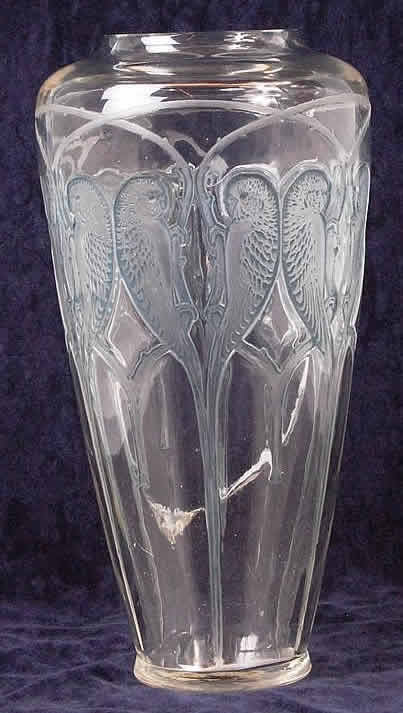 Rene Lalique Inseparables Vase