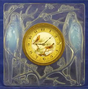 Rene Lalique Inseparables Travel Clock