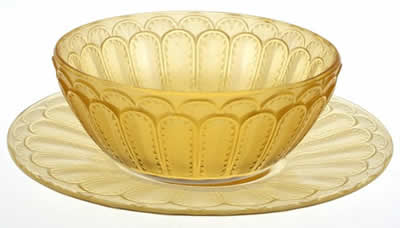 Rene Lalique Tableware Jaffa