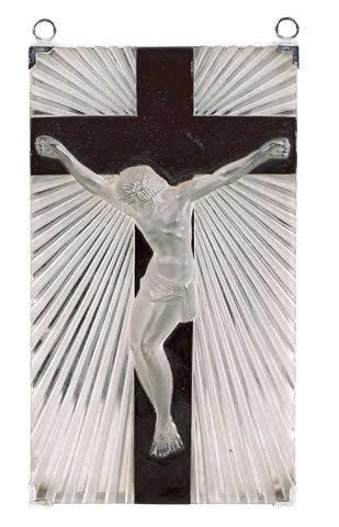 Rene Lalique Statue Jesus