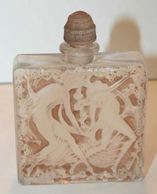 Rene Lalique Perfume Bottle L'Elegance