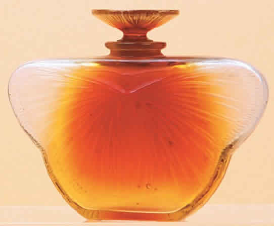 Rene Lalique Phalene Perfume Bottle
