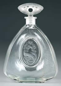 Rene Lalique La Sirene-3 Perfume Bottle