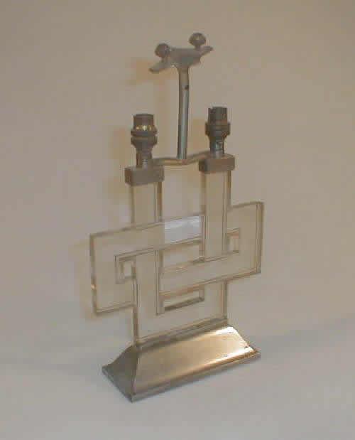 Rene Lalique Lamp Entrelacs