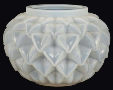 Rene Lalique Vase Languedoc