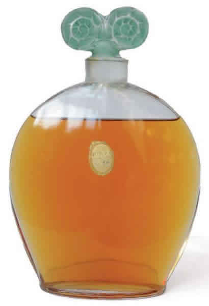 Rene Lalique Le Chypre Perfume Bottle