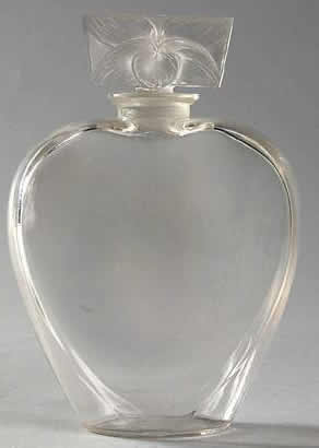 Rene Lalique Perfume Bottle Le Lilas