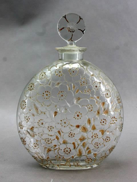 Rene Lalique Le Lys Perfume Bottle