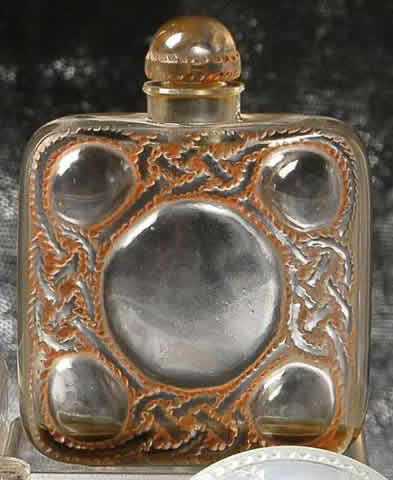 Rene Lalique 5 Perfume Bottle