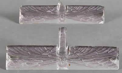 Rene Lalique Knife Rest Libellule