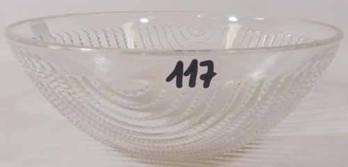 Rene Lalique Bowl Lignes