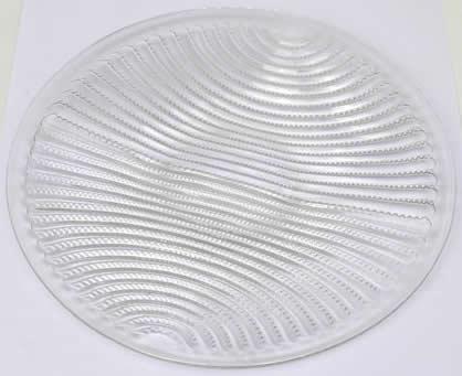 Rene Lalique Plate Lignes