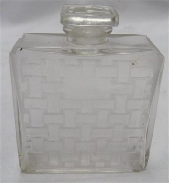 Rene Lalique Violette Perfume Bottle