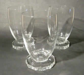 Rene Lalique Lille Water Glass