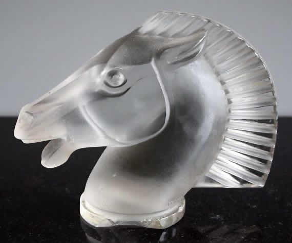 Rene Lalique Longchamp-B Car Mascot