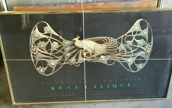 Rene Lalique Los Angeles County Museum Poster