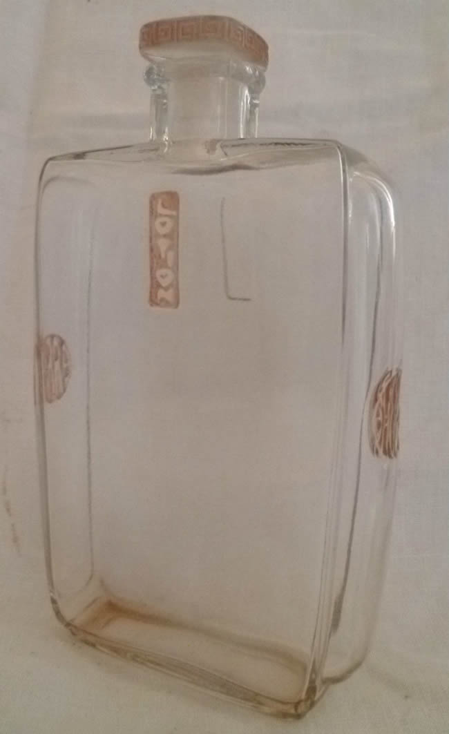 Rene Lalique Lotion Perfume Bottle