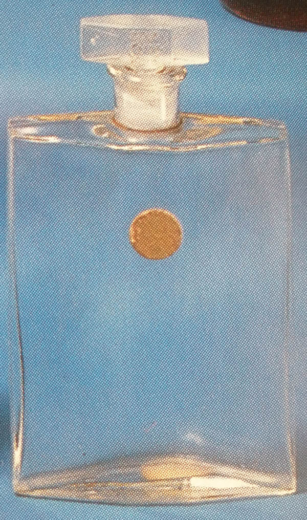 Rene Lalique Lotion Coty Perfume Bottle