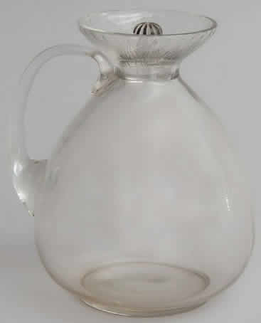 R. Lalique Lotus Pitcher