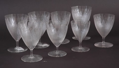 Rene Lalique Lotus Glass