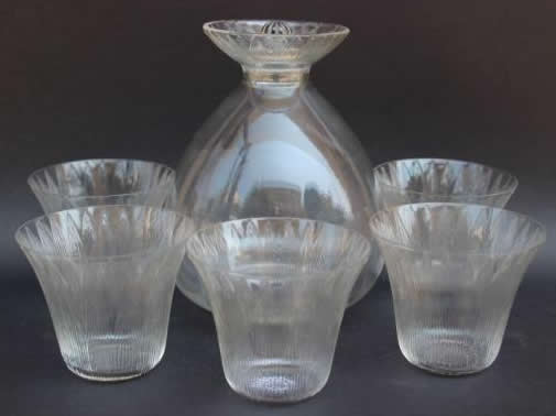 Rene Lalique Tableware Lotus