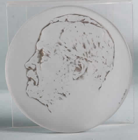 Rene Lalique Louis Pasteur Medallion